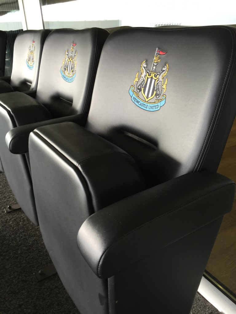 Not your standard stadium seating...